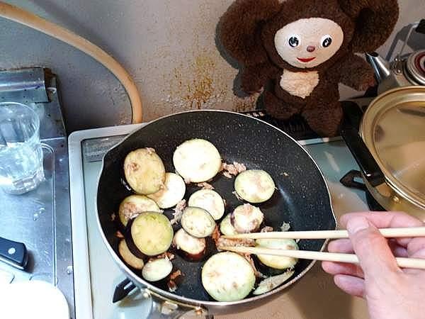 ナスのツナ炒め 作り方