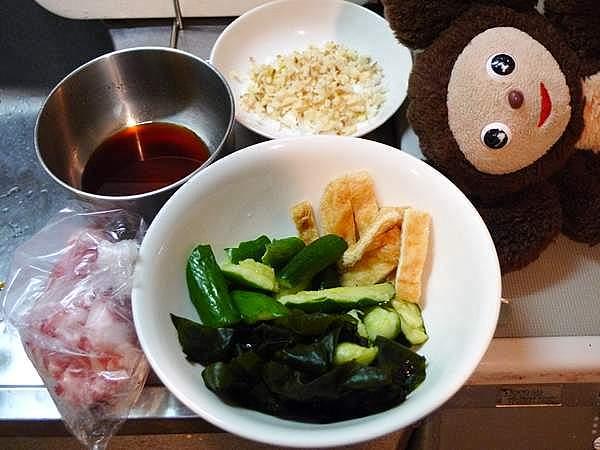 豚肉とキュウリのピリ辛炒め 作り方