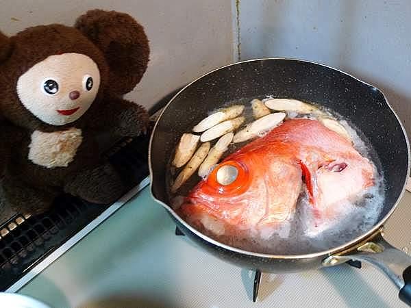 金目鯛の煮付け 作り方