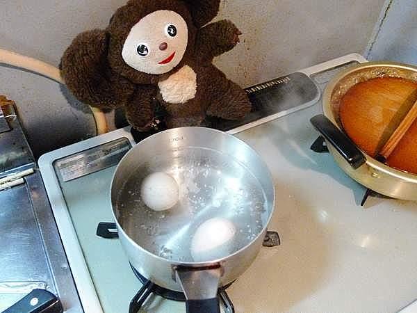 鶏手羽と卵の煮物 作り方