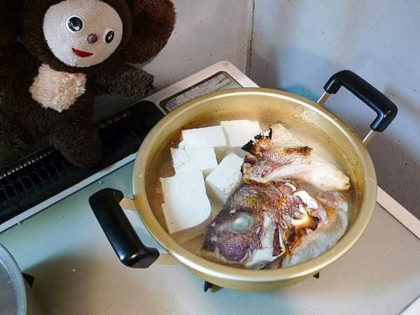 鯛の塩焼き鍋 作り方