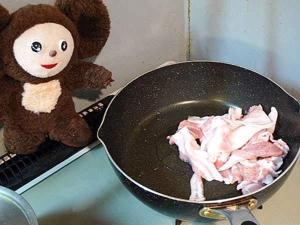 豚肉とナスのしょうが焼き 作り方