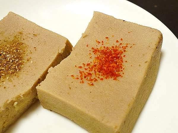 金目鯛の煮汁で煮た高野豆腐
