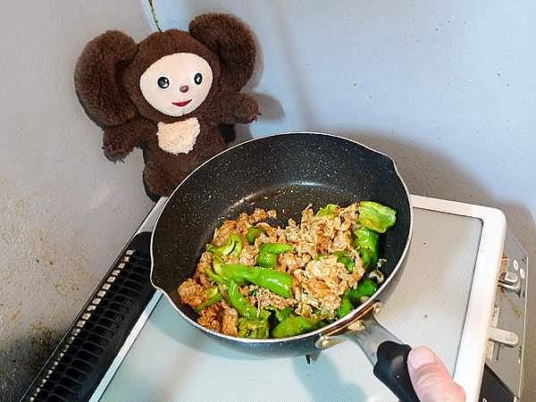 万願寺とうがらしと豚肉のピリ辛みそ炒め 作り方
