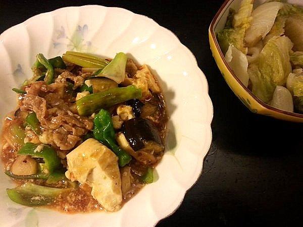 意外に美味しくできる麻婆豆腐