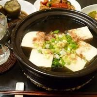 湯豆腐とにしんナス