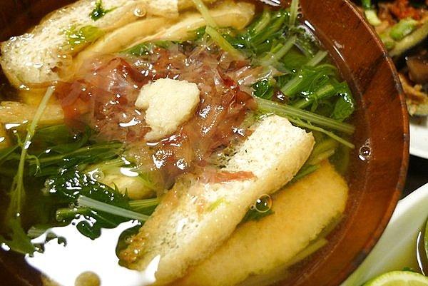水菜の吸物