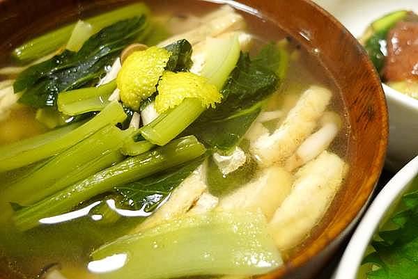 小松菜の吸物