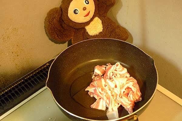 豚みそ炒め丼