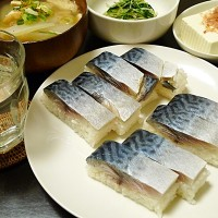 サバ寿司と船場汁