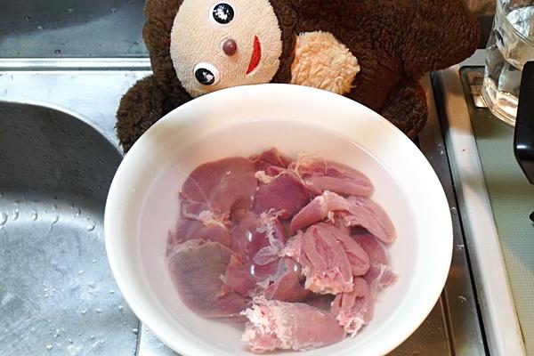 ニラレバ丼
