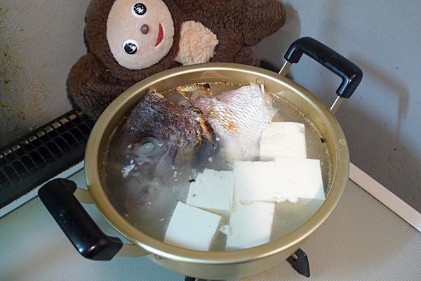 鯛の湯豆腐