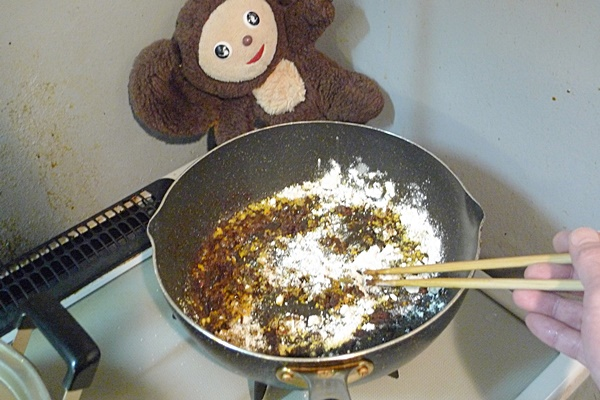 鶏つみれのカレー鍋