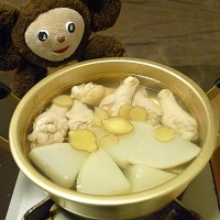 大根と鶏肉の白煮