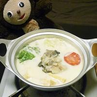 カキのミルク鍋