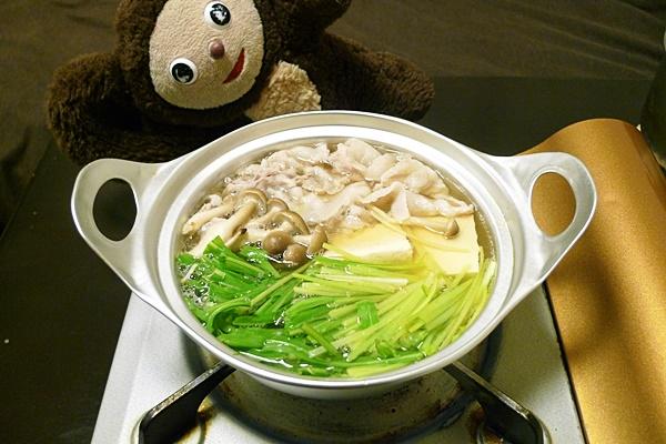 豚肉のハリハリ鍋