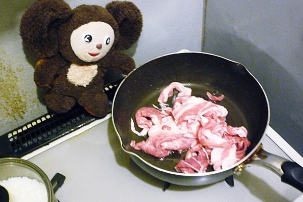 豚ショウガ焼き