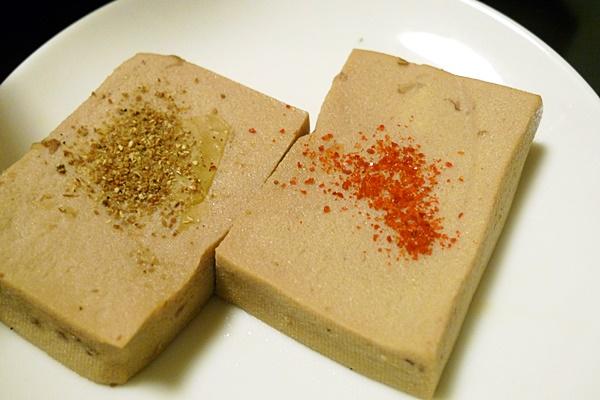 ブリ大根の煮汁で煮た高野豆腐