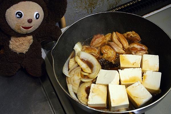 水菜の鶏すき