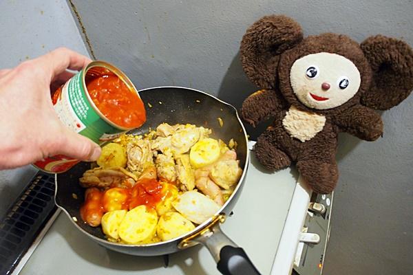 チキントマト煮