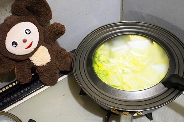 豚肉と白菜のトロトロみそ煮込み