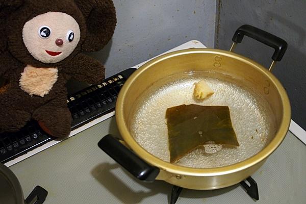 豚肉とニラのパワー汁