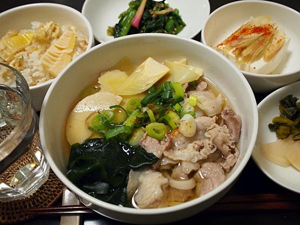 豚肉の若竹汁