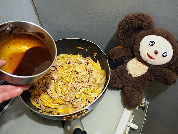 豚肉とニラのみそ炒め