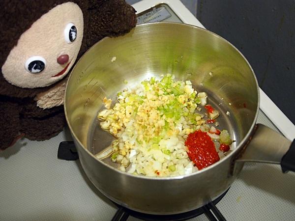 ミートボールのトマト煮ライス