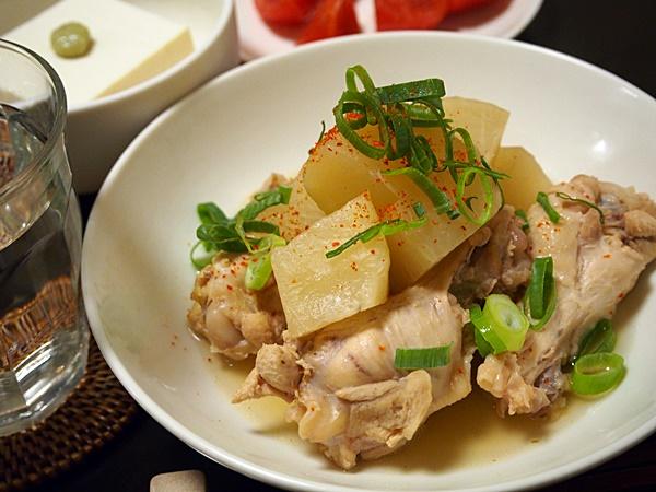 鶏と手羽元の煮物