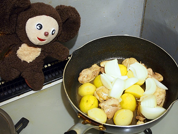 鶏じゃが塩レモン
