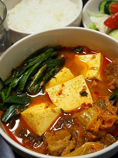 豚キムチのスープカレー