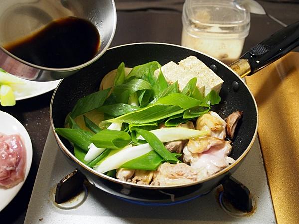 鶏肉のすき焼き 作り方
