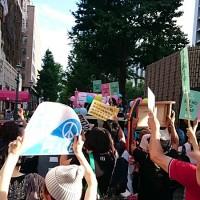 7/19戦争法案反対・大阪デモ