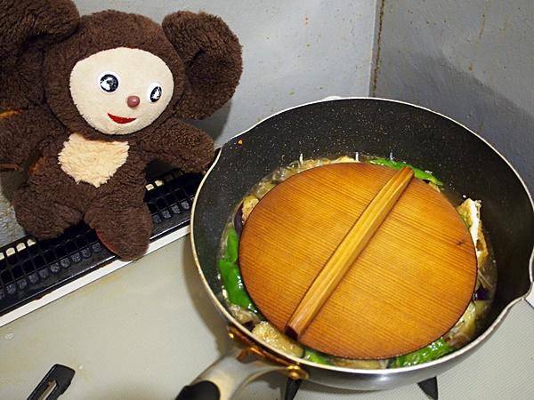 万願寺とうがらしとナスの煮浸し 作り方