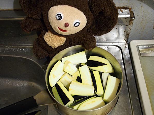 ナス鶏そぼろあんかけ素麺 作り方
