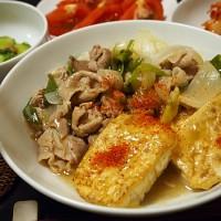 豚肉と豆腐の炒め煮