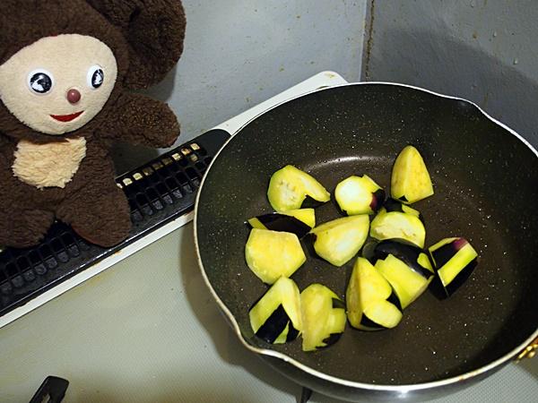 うす味のマーボー茄子 作り方