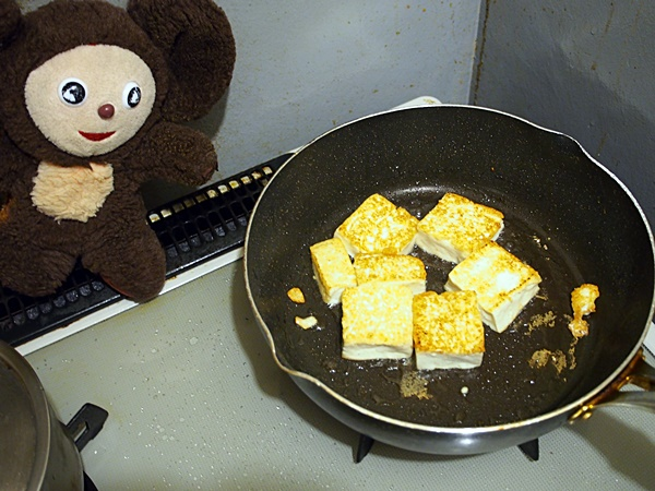 味噌味のゴーヤチャンプル 作り方