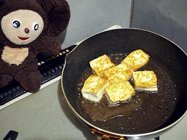 カレー味のゴーヤチャンプル 作り方