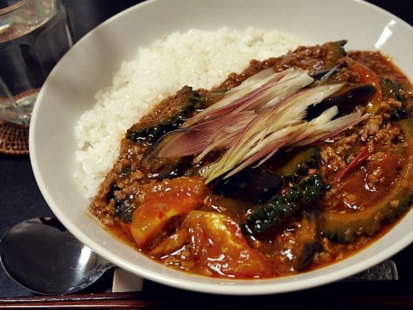 マーボー夏野菜