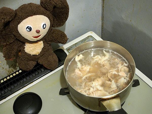 豚冷しゃぶ梅ダレ 作り方