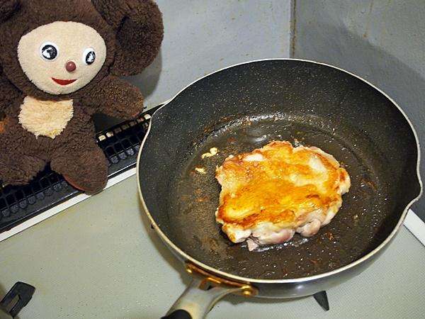 鶏ももソテー梅バターソース 作り方