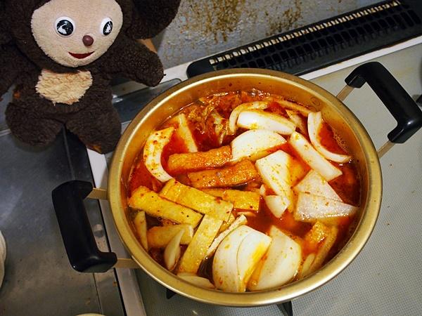 さんまのキムチ味噌汁 作り方