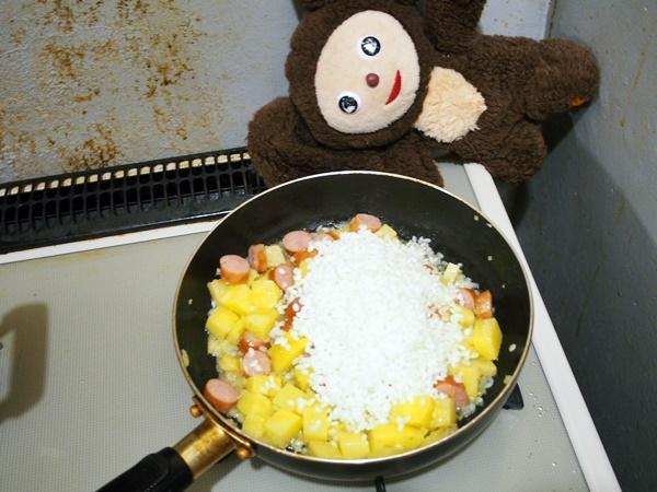 ウインナーの炊き込みご飯 作り方