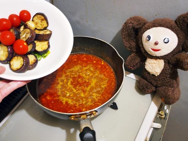 夏野菜のマーボー・カレー 作り方