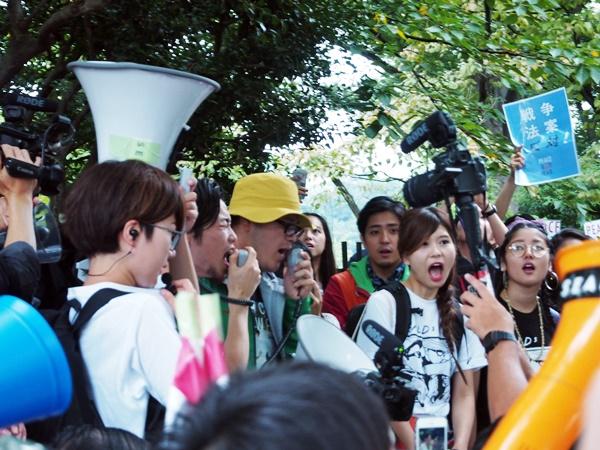 8.30国会前抗議行動