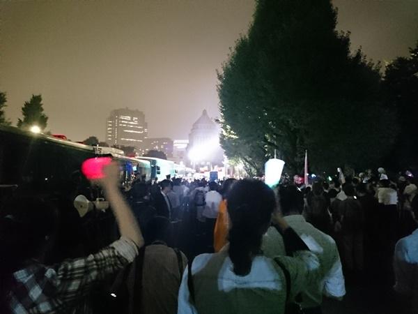 9.18国会前抗議