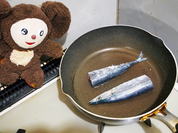 さんまの塩焼き 作り方