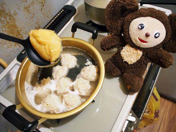 鶏団子の白みそ鍋 作り方